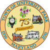 University Park, MD 75th Anniverary Logo